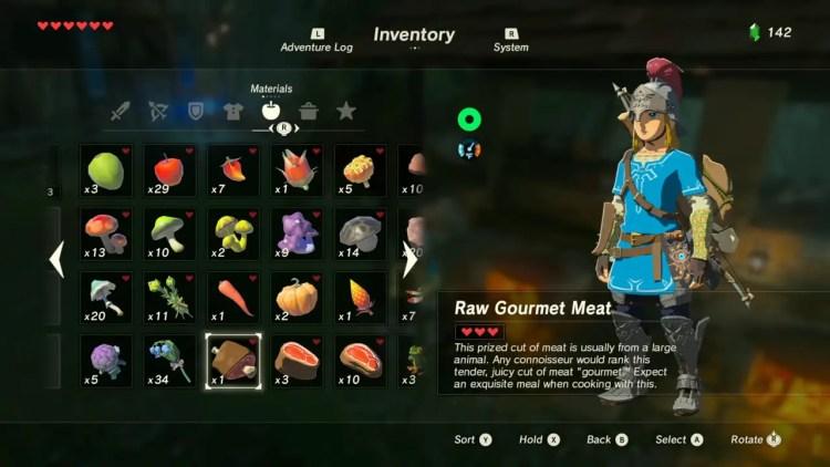 Zelda: Breath of the Wild - How to Cook Food