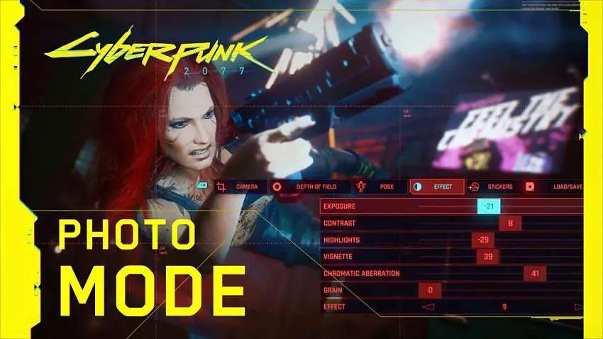 Cyberpunk 2077 creates a scene with its Photo Mode trailer