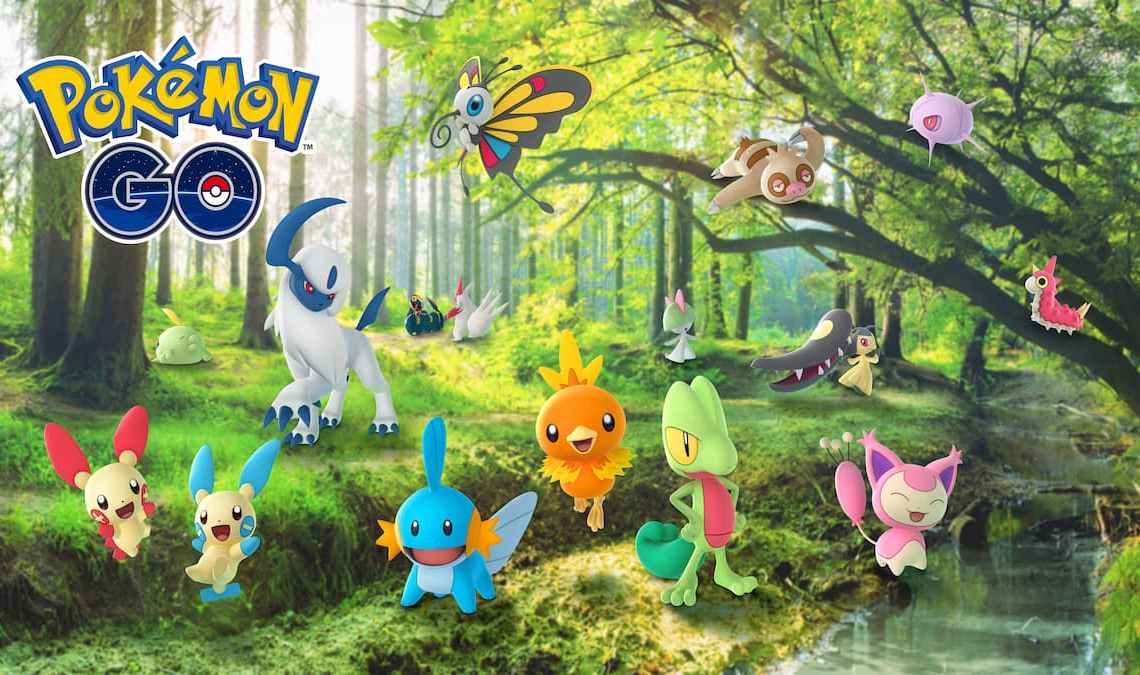 Hoenn Collection Challenge Guide