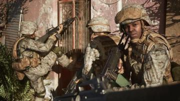 Six Days in Fallujah returns for more military shooter action as propaganda