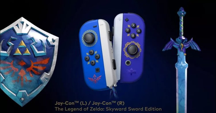 Zelda Switch Joy-Cons
