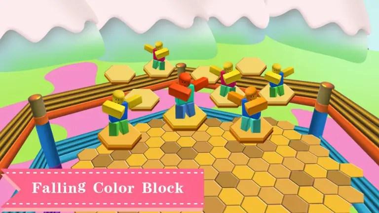 All Roblox Falling Color Block Codes