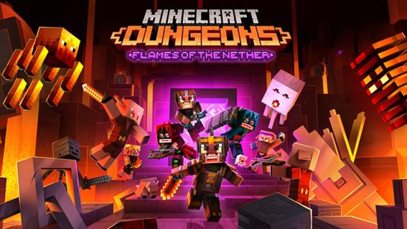 Flames of the Nether DLC Announced for Minecraft Dungeons
