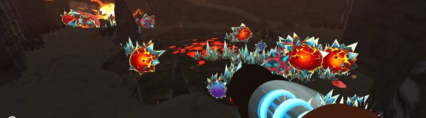 Where to find Crystal Slimes in Sime Rancher
