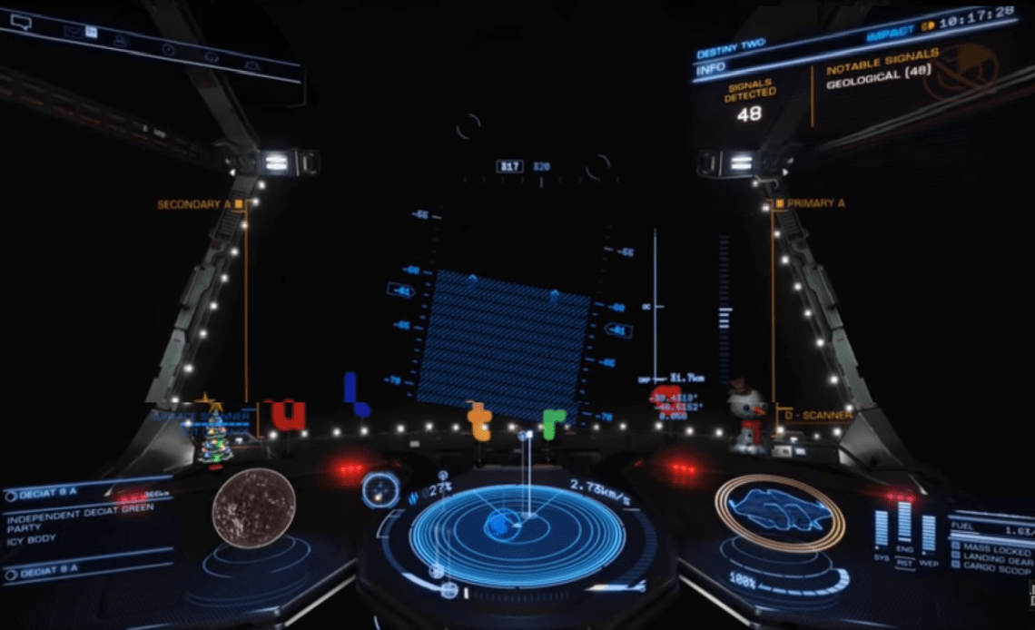 How to land on planets in Elite Dangerous