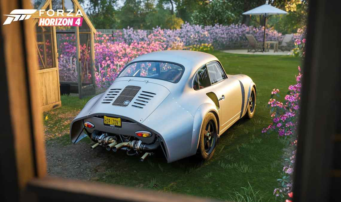 How to get the Emory Porsche 356 RSR in Forza Horizon 4