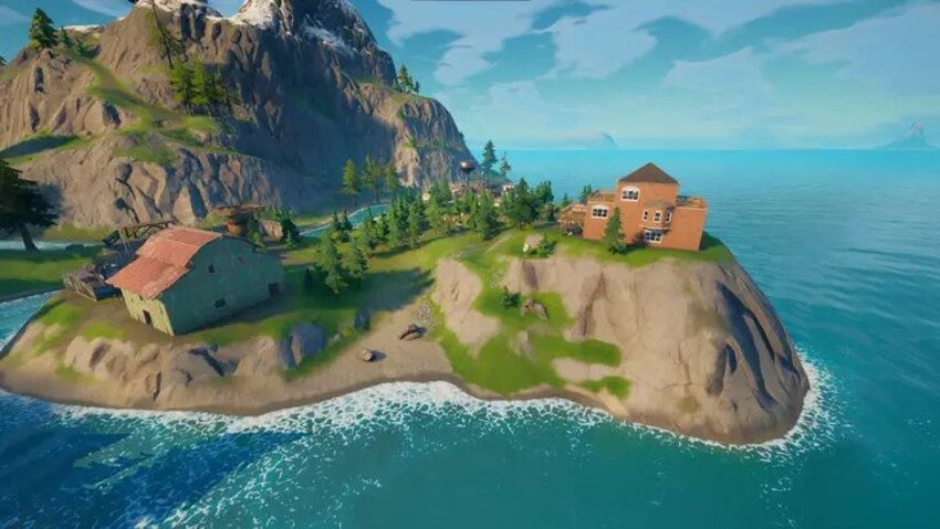 Where is Camp Cod in Fortnite Chapter 2?