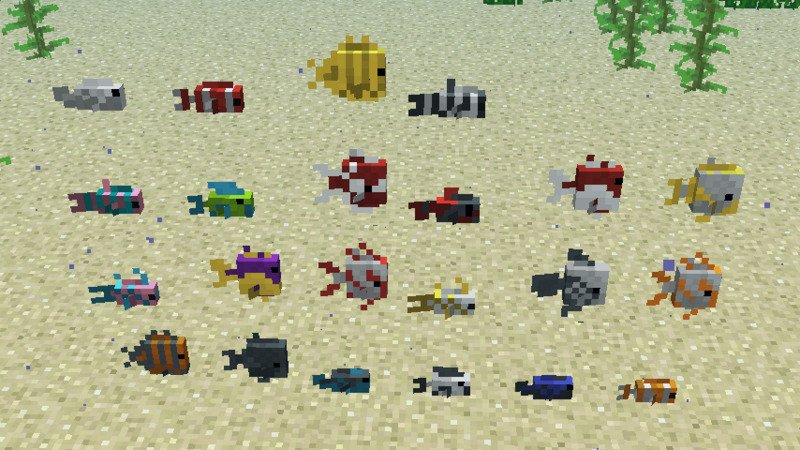 Where to find Tropical Fish in Minecraft