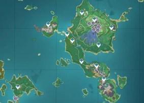 Where to find Naku Weed in Genshin Impact