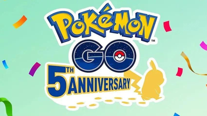 Pokémon Go Fifth Anniversary Collection Challenge