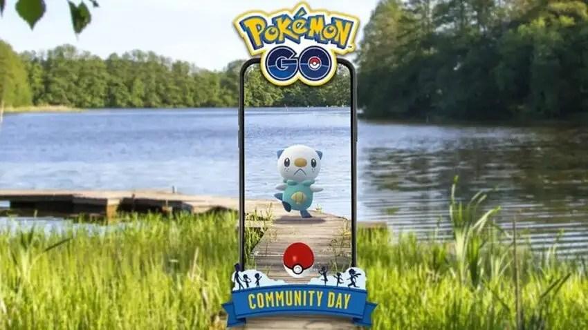 Pokémon Go Oshawott Community Day Details