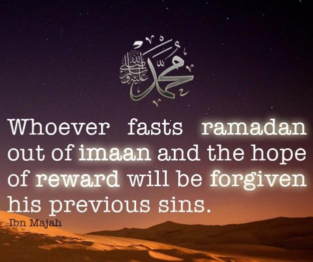 fast in ramadan