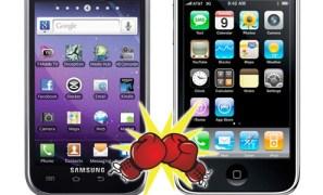Samsung solicita a un juez la prohibición de algunos iDevices