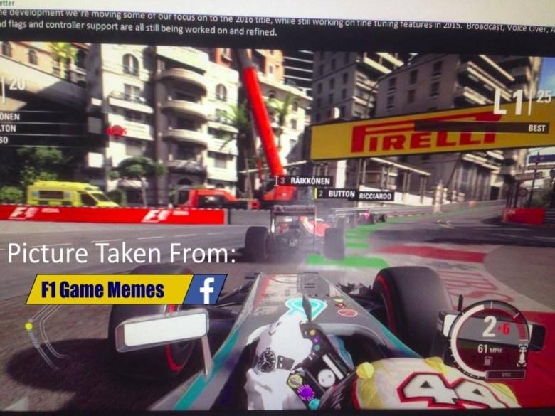 F1 2015 para PS4 y Xbox One: primeras imágenes oficiales - islaBit