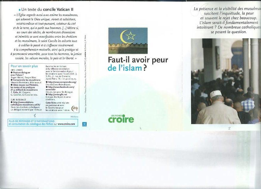 Faut-il avoir peur de l'islam image 1