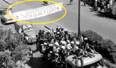 Inauguration à Marignanne du Rond-point du 5 juillet 1962 en hommage aux victimes d'Oran