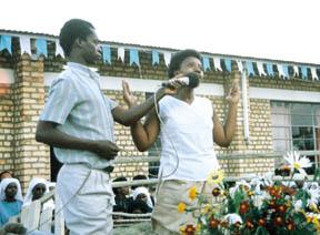 Les apparitions de la Vierge Marie à Kibého, au Rwanda, en 1981.