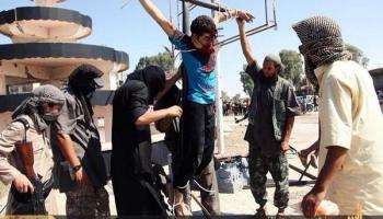 L'EI crucifie un enfant à Alep: il ne voulait pas se convertir à l'islam