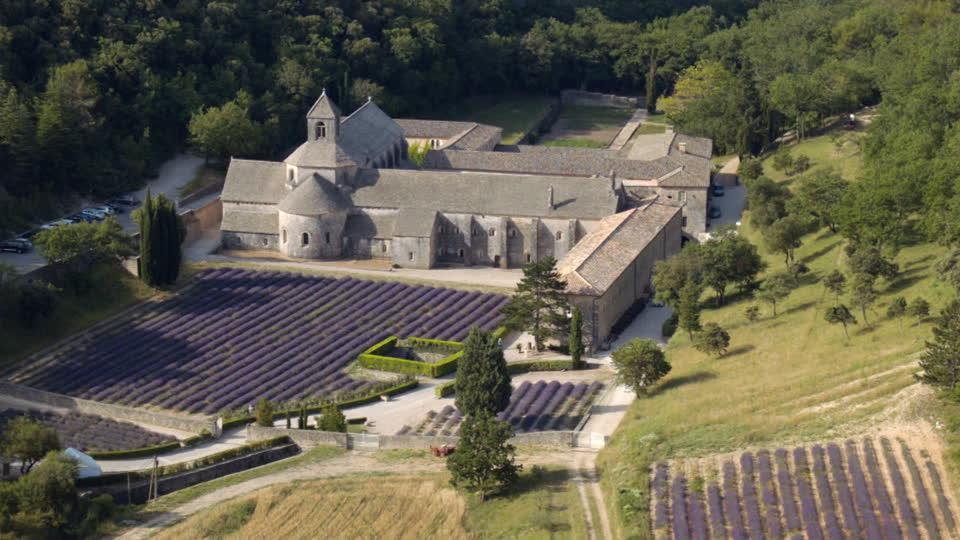 872044215-修道院圣母院senanque-戈尔德-薰衣草田-沃克吕兹省dpartement