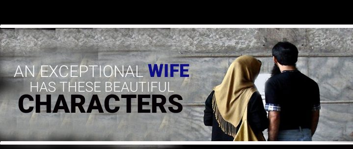 AN EXCEPTIONAL WIFE HAS THESE BEAUTIFUL CHARACTERS