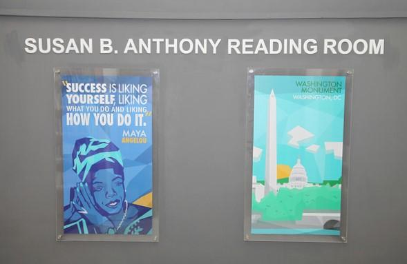Susan B Anthony Reading Room in Rawalpindi