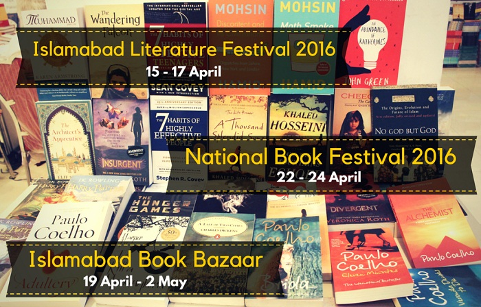 April is all about Books and Literary Festivals in Islamabad