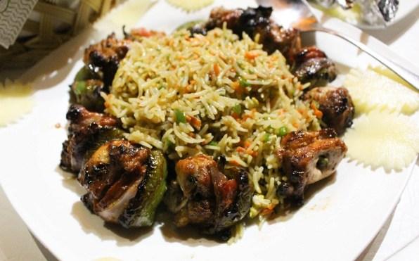 BBQ shashlik at Epice restaurant Islamabad