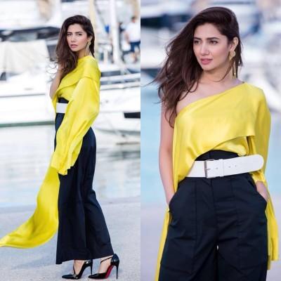 Mahira Khan at Cannes 2018