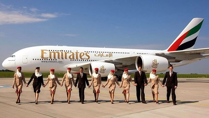 Emirates' A380, world's largest passenger plane, lands at Islamabad Airport