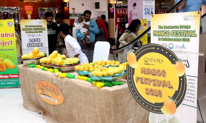 Mango Festival kicks off at The Centaurus in Islamabad
