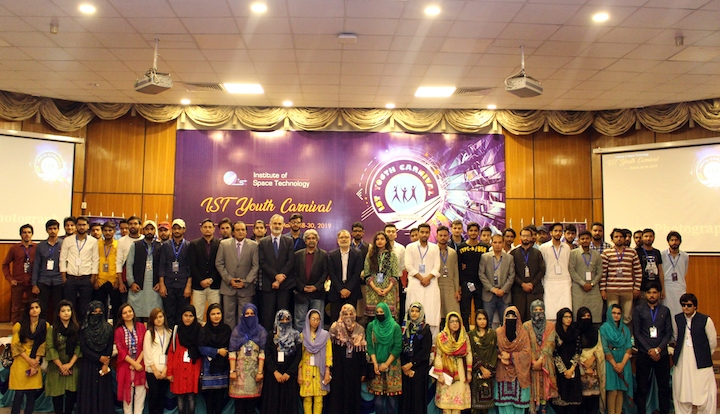 All Pakistan Youth Carnival opens at Institute of Space Technology