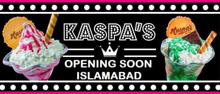 Kaspa's Desserts is opening soon in Islamabad