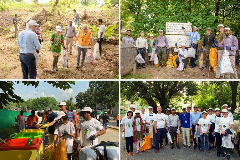 Foreign diplomats join in Clean Green Pakistan campaign