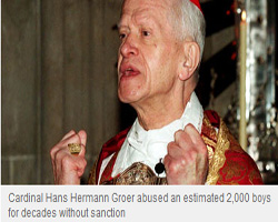 Cardinal Hans Hermann Groer