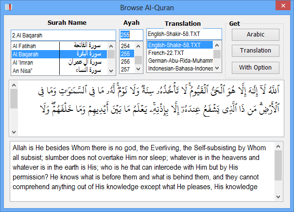 quran in ms word