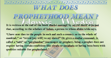 scholars of kalam, ghaib, know the entire ‎unknown‎‏, Allahu ta'ala, prophethood