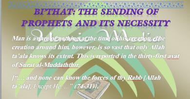 power of prophethood, prophethood (nubuwwa), prophets, believe in prophethood, BI'THAT