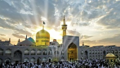 Photo of Visiting Imam Ridha (as)