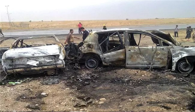 Premature car bomb blast kills 40 militants in Syria