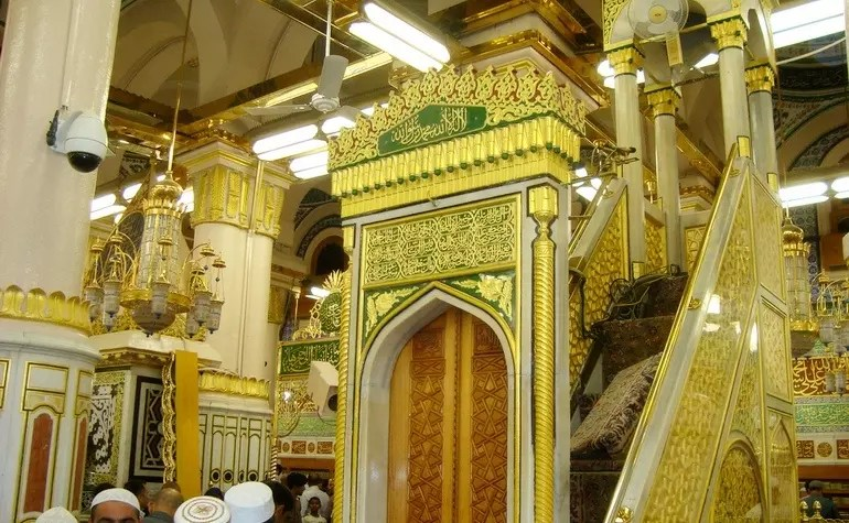Pulpit (Mimbar) of Masjid-e-Nabwi