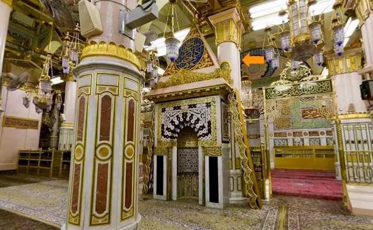 Pillars of Masjid-e-Nabwi: 1. Ustawaanah Hannanah