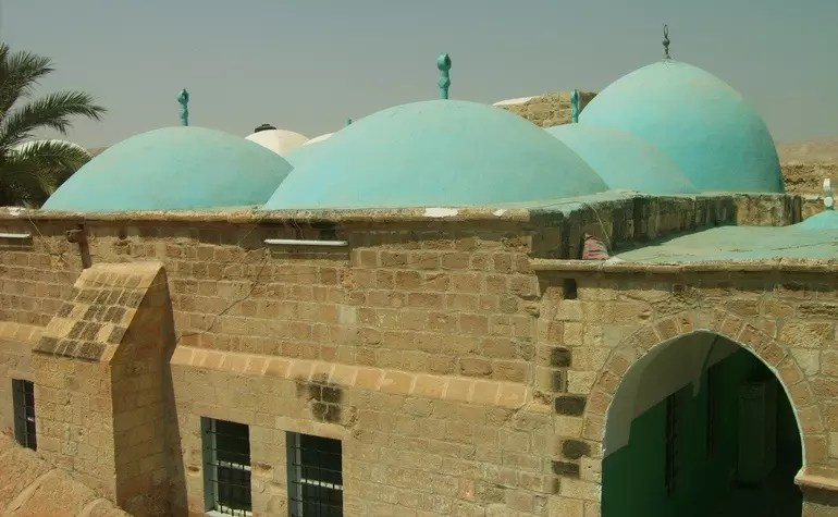 Exterior of the Maqam of Musa (upon him be peace)