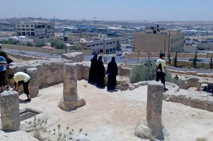 View from the top of the Cave of the Ashabe-Kahf