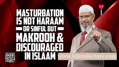 Masturbation is not Haraam - Dr Zakir Naik - Islami Lecture