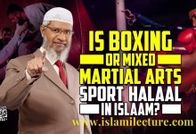 Is Boxing or Mixed Martial Arts Sport Halaal - Islami Lecture