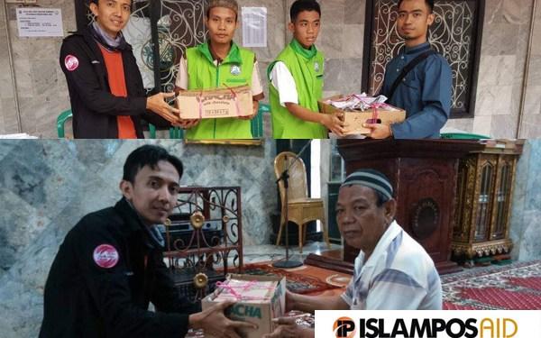 IslamposAid Berbagi Ta'jil di Masjid Al-Balaadgh dan Masjid Nurul Iman Makassar 1