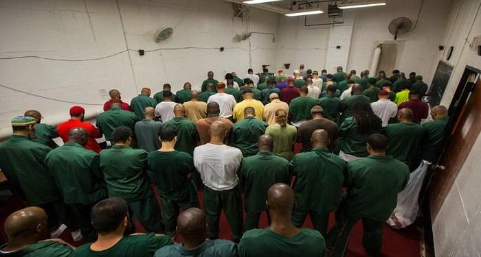 Narapidana Muslim di Lapas Sing-Sing Correctional Facility NY AS. Foto: Google Image