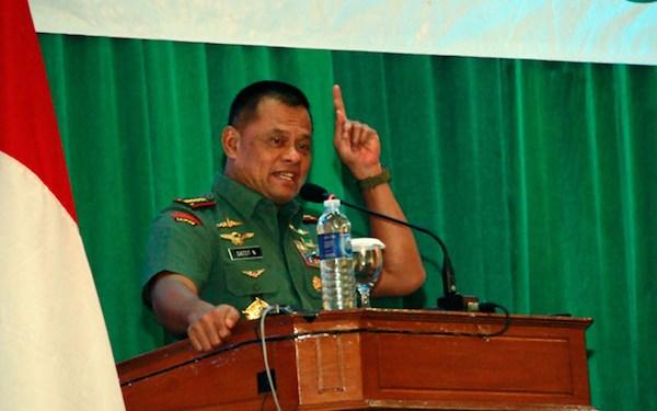 Foto: Panglima TNI