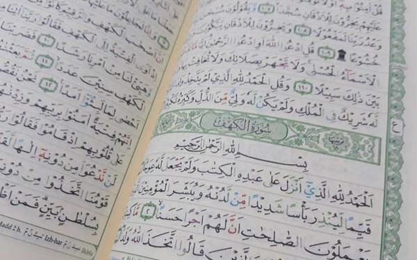 Surah Al-Kahfi Surat Al-Kahfi di Hari Jumat
