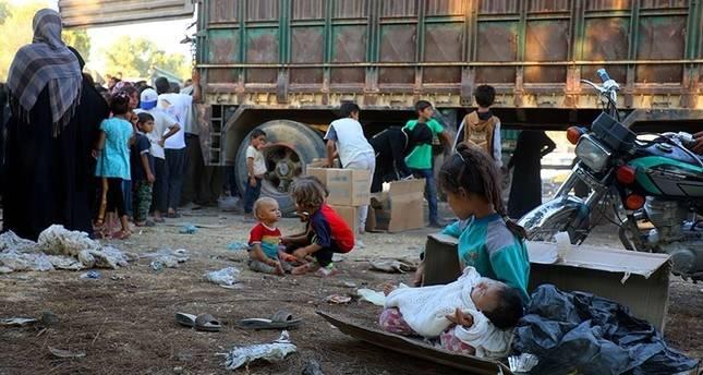 Anak-anak di Suriah. Foto: Daily Sabah